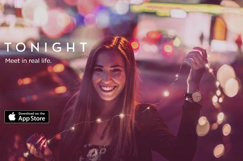 Tonight is a new dating app optimized for real dates