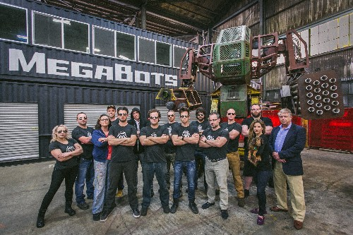 MegaBots raises $2.4 million to create league of human-piloted, giant fighting robots