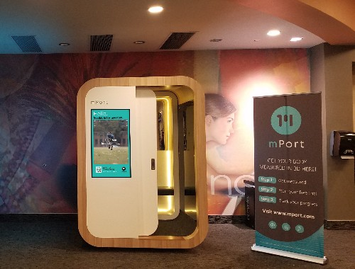 The mPod is a 3-D body scanner coming to a gym near you