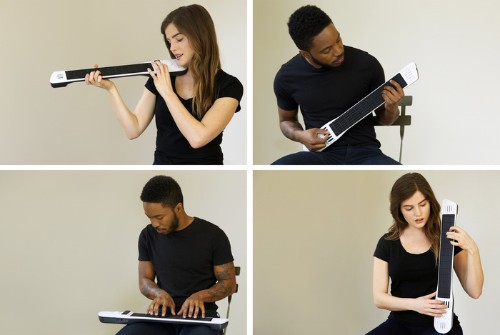 The Artiphon INSTRUMENT 1 Is A Symphony, Rock Band And DJ In The Palm Of Your Hand
