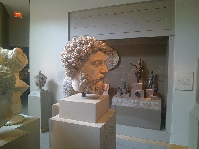 Maker Nabs A 3D Model Of Marcus Aurelius With Google Glass