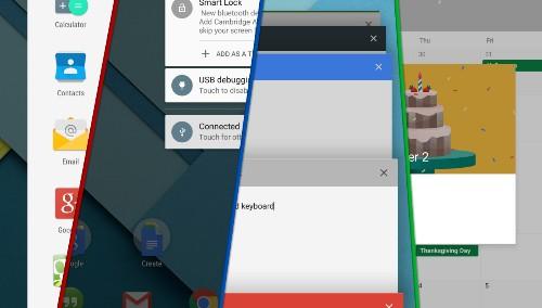 Android 5.0 Lollipop タブレット版レビュー