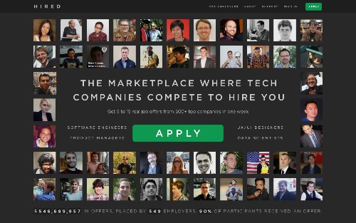 DeveloperAuction Rebrands As Hired.com To Make Recruiting Suck Less For Everyone