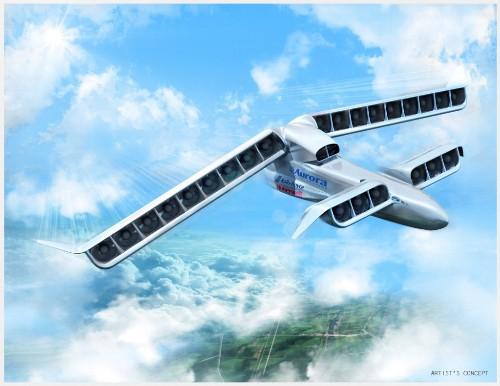 Aurora's massive LightningStrike VTOL UAV just got one step closer to reality
