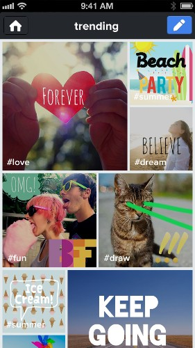 Tracks Pivots From Photo Sharing To Social Self-Expression With The Launch Of Its New Kanvas App