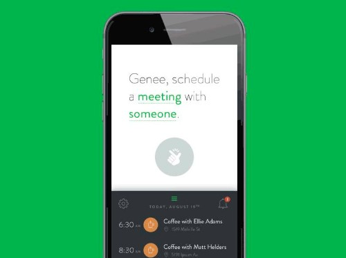 Meet Genee, Your Artificially Intelligent Personal Assistant