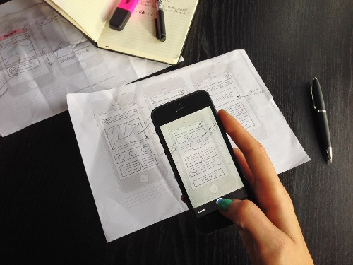 """Marvel's iPhone App Turns Sketches Into Tappable Mobile App """"Prototypes"""""""