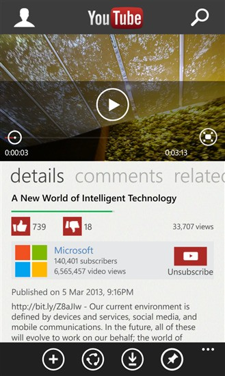 YouTube Sends Cease-And-Desist Letter To Microsoft Over Windows Phone App