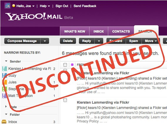 Yahoo Shuts Down Mail Classic, Forces Switch To New Version That Scans Your Emails To Target Ads