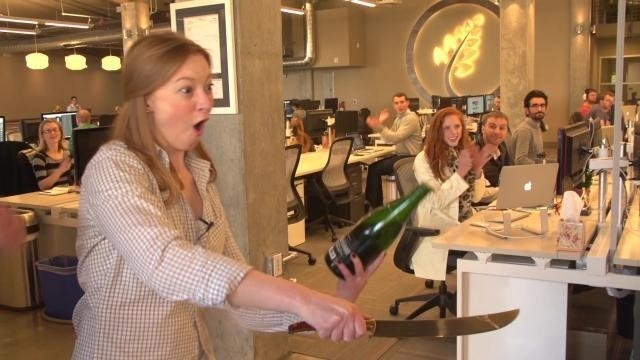 TC Cribs: TellApart Turned An Old Auto Shop Into A Golden Land Of Tech (And Champagne)
