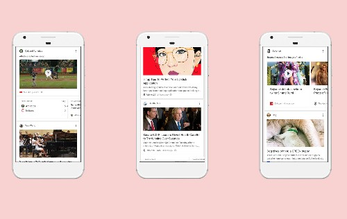 Google introduces the feed, a news stream of your evolving interests
