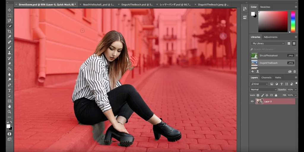 Photoshop - Magazine cover