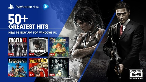 PlayStation Now streaming service available today on Windows PCs