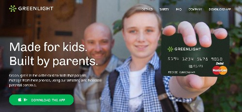 Greenlight is a debit card for kids that parents manage from their phones