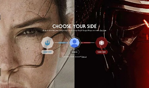 "Google Lets You Give Its Apps A ""Star Wars"" Makeover"