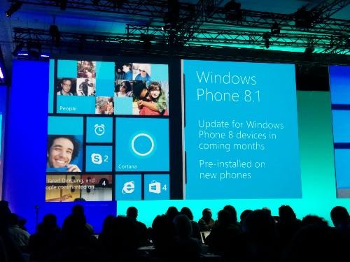 Microsoft Announces Windows Phone 8.1 With New Action Center, Cortana, Start Screen Improvements