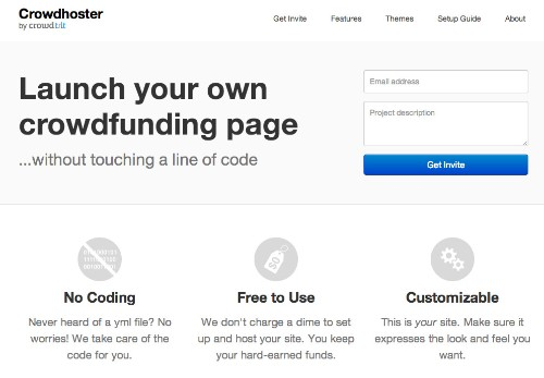 Crowdtilt Launches Crowdhoster To Let Anyone Create, Customize And Host Their Own Crowdfunding Campaigns