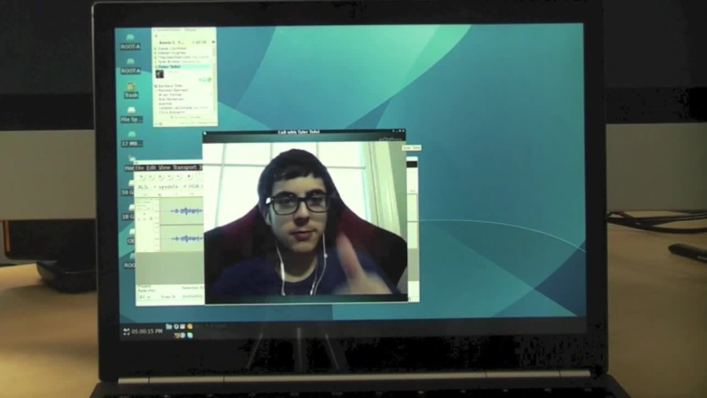 How to run Linux in a window inside Chrome OS