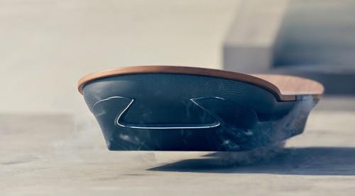 Lexusが液体窒素を用いたホバーボードの予告動画を公開