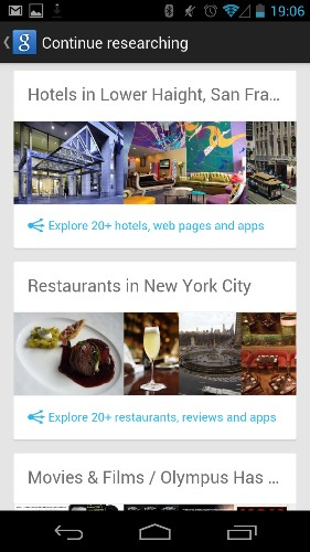 """Google Now's """"Topics"""" Page Returns And Shows You How Much Google Knows About You, But It Only Works On Android"""