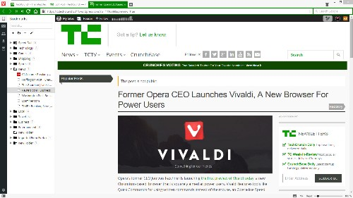 Former Opera CEO Launches Vivaldi, A New Browser For Power Users