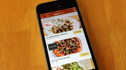 Amazon eyeing up London restaurant delivery launch