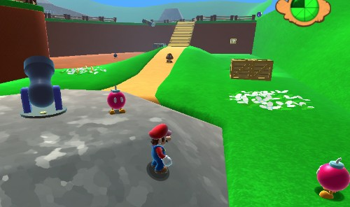 This Guy Remade Super Mario 64's Most Iconic Level In HD And Playable In Your Browser
