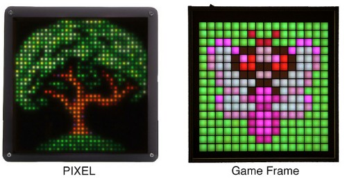 PIXEL Brings Old School Video Game Art To Life In Your Home