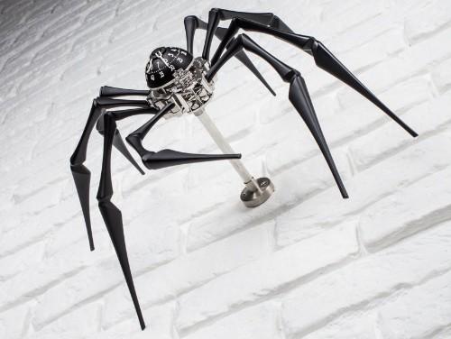 The MB&F Arachnophobia Tells Time Through Fear