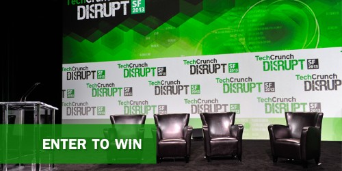 Go To TechCrunch Disrupt For Free #TCDisrupt