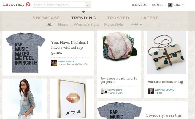 Luvocracy Raises $11M From Kleiner Perkins, Google Ventures And Others To Master Ecommerce And Social Recommendations