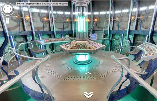 Google Maps Easter Egg Lets You Explore The TARDIS
