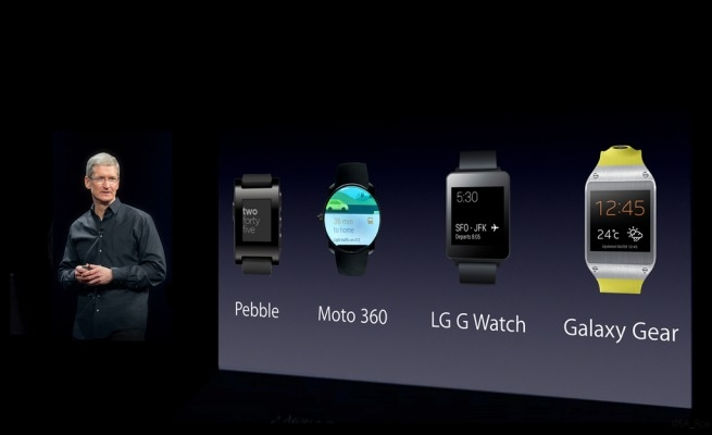 Apple wearable reportedly only being previewed at iPhone event, shipping next year
