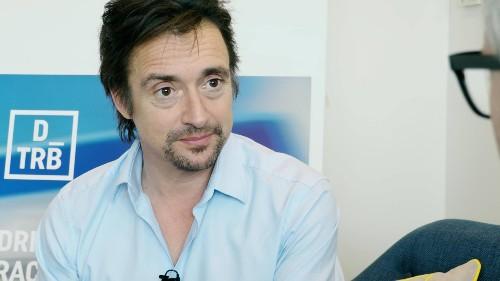 Car celebrity Richard Hammond talks about launching the DriveTribe startup
