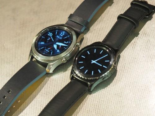 Samsung's big Gear S3 smartwatch arrives November 18