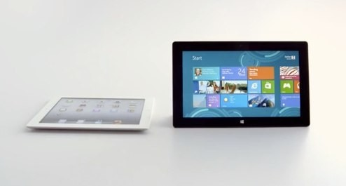 "Microsoft Still Hopes You'll Buy A Surface RT, Launches New ""Surface Vs. iPad"" Ad"