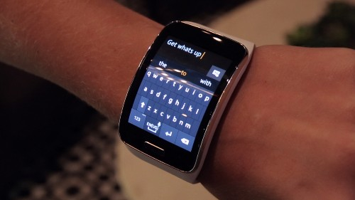 Hands-On With The Samsung Gear S Smartwatch