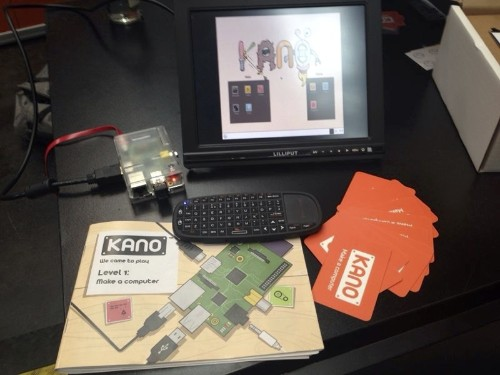 Kano Kickstarts A Pi-Based, DIY Kit Computer Designed To Make Learning To Code Child's Play