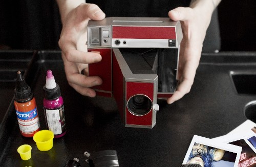 Go big and go analog with the Lomo'Instant Square camera