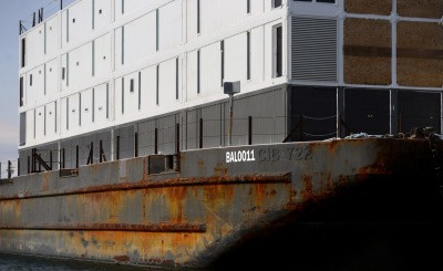 Google Says Its Mystery Barges May Be Used As Interactive Space Where People Can Learn About Its Technology