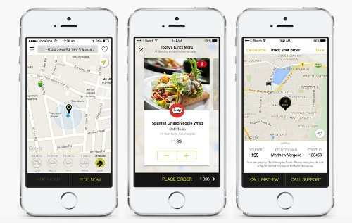 Ola, Uber's Big Rival In India, Introduces Food Ordering Service