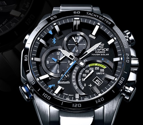 The Casio Edifice EQB501 takes a licking, connects to your cellphone
