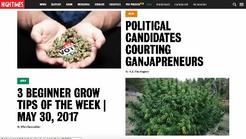 Marijuana media giant High Times sells majority stake for ~$42 million
