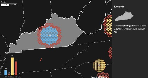 Visualizing the slave insurance industry
