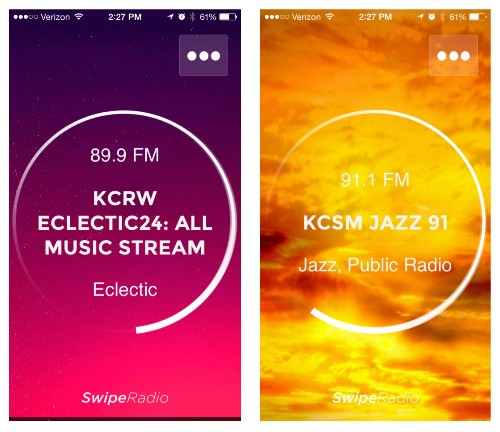 SwipeRadio Is A Faster Way To Listen To Terrestrial Radio On Your iPhone