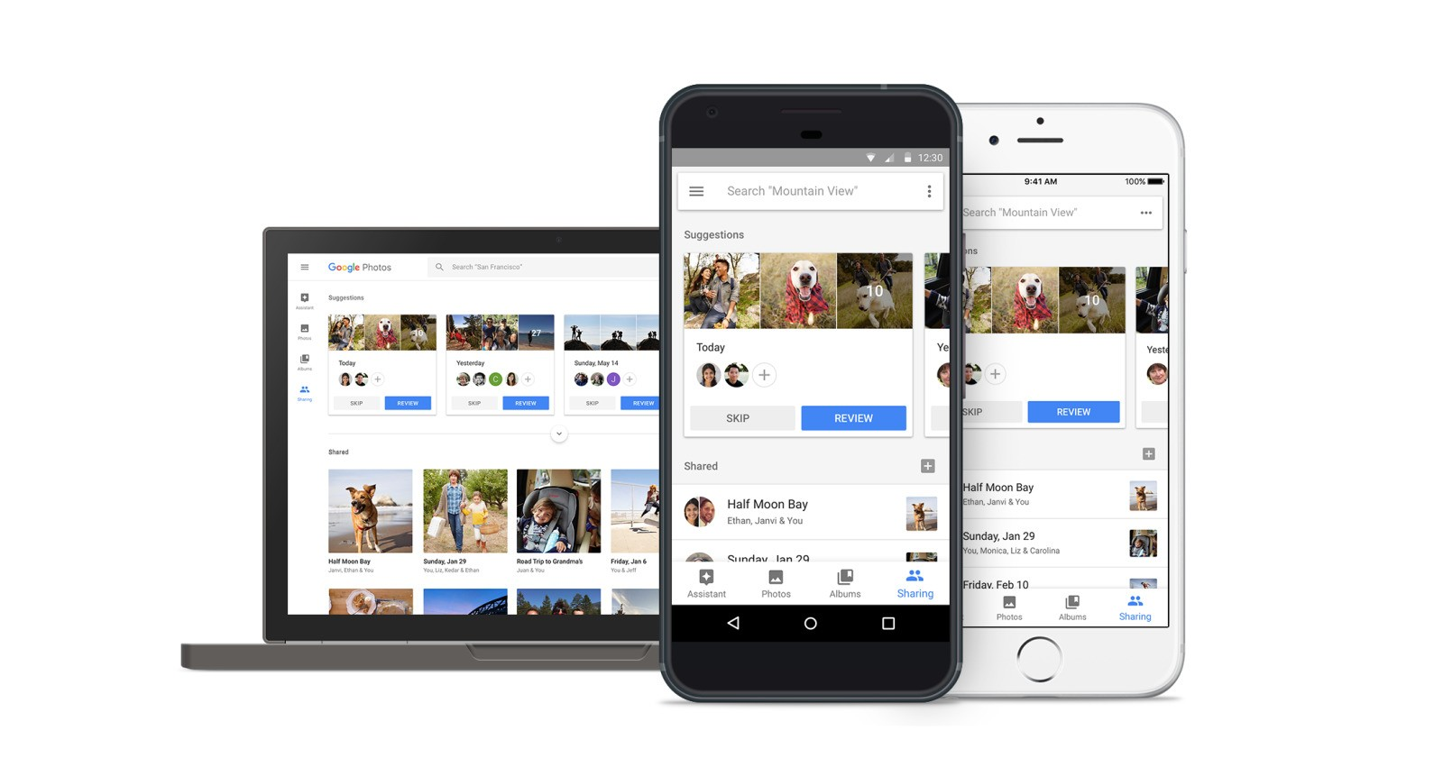Google Photos starts rolling out Suggested Sharing, Shared Libraries to iOS and web