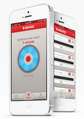 New iOS App Lets You Record What You Heard Five Minutes Ago