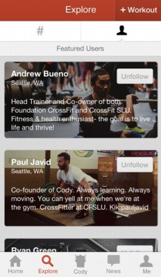 Meet Cody, The Casual Fitness Coach And Social Discovery Tool For Everyone Else