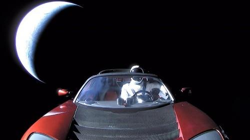 Starman has gone dark