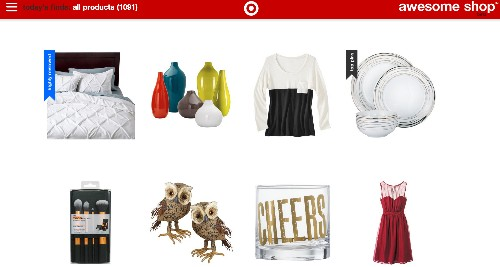 """Target Experiments With A Pinterest-Powered Online Storefront, Dubbed The """"Awesome Shop"""""""